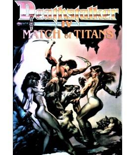 Deathstalker 4 Match of Titans on DVD
