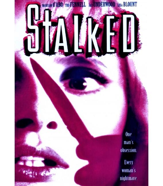 Stalked on DVD starring Maryam D'abo and Jay Underwood