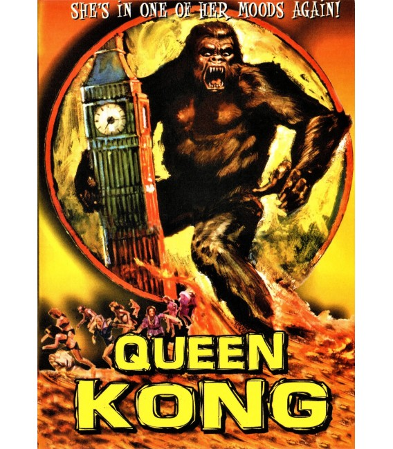 Queen Kong unrated on DVD