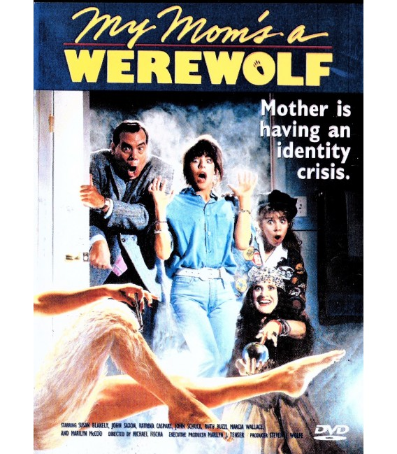 My Mom's a Werewolf starring John Saxon & Susan Blakely on DVD