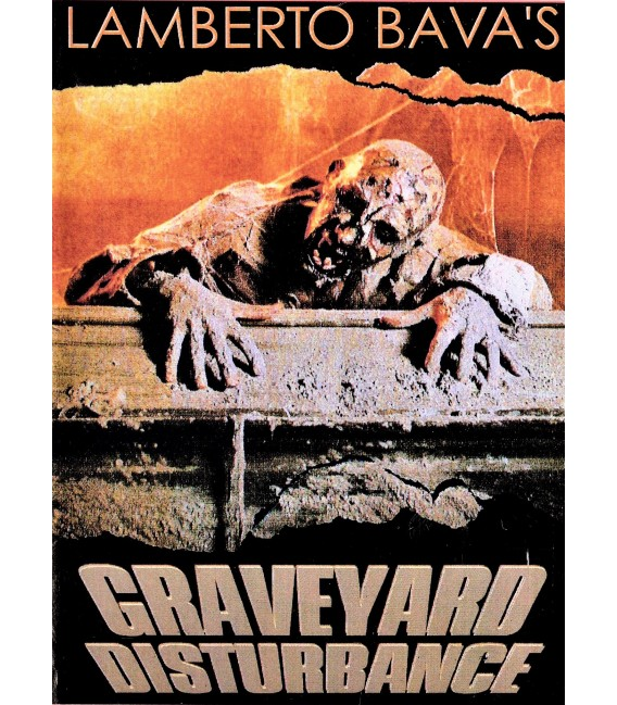 Graveyard Disturbance directed by Lamberto Bava on DVD