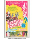 "Santa Claus (K. Gordon Murray). 1970 Folded Vintage Theater poster One Sheet (27"" X 41"")"