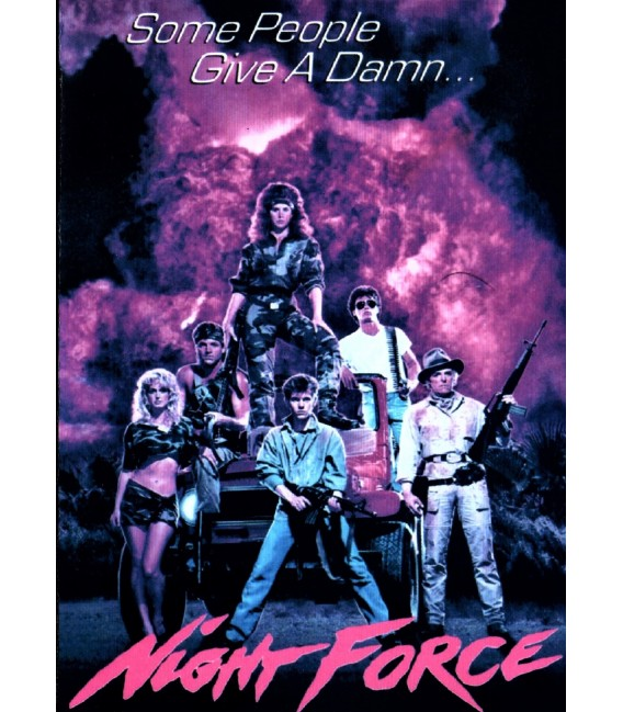 Nightforce starring Linda Blair & James Van Patten on DVD