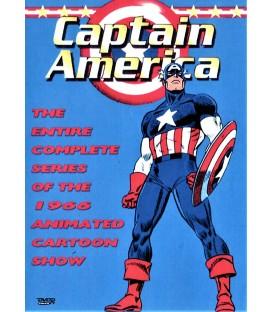 Captain America 1966 complete animated cartoon series on DVD