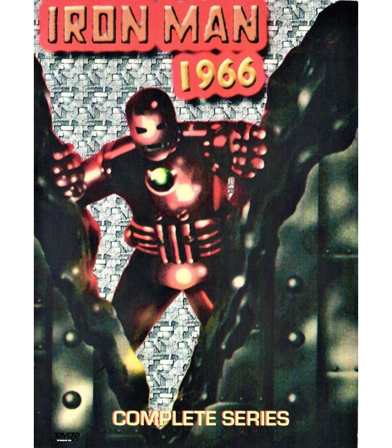 Iron Man 1966 Marvel Adventures Cartoon Series on 2 DVDS