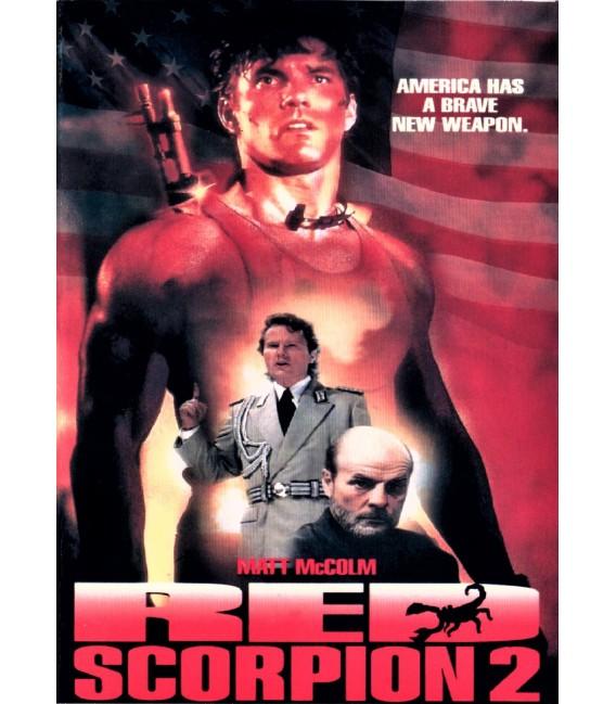 Red Scorpion 2 starring Matt McColm on DVD
