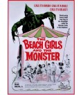 The Beach Girls and the Monster on DVD