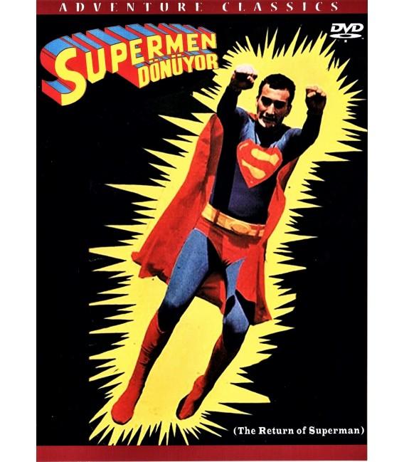 Turkish Superman (The Return of Superman) on DVD