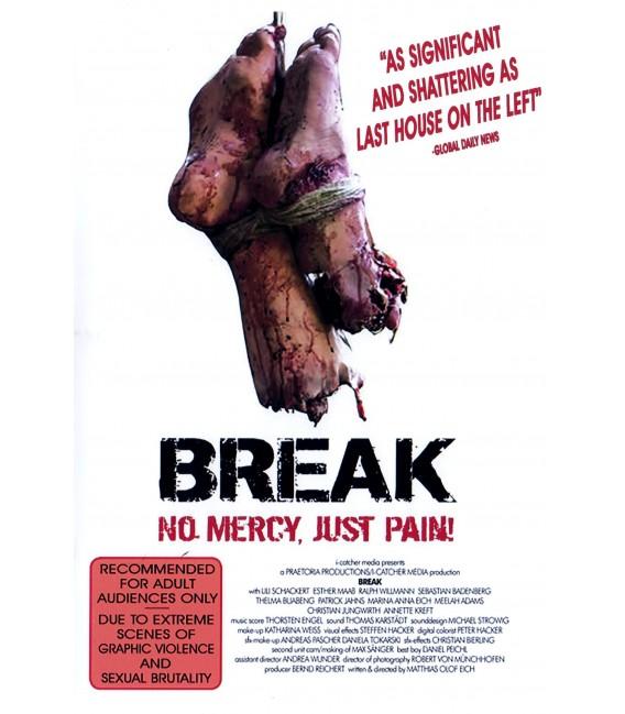 BREAK No Mercy, Just Pain on DVD
