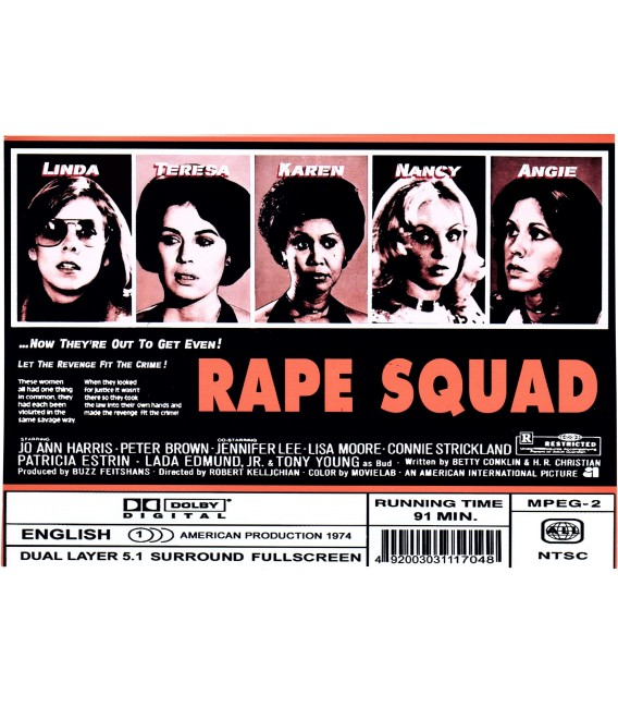 The Rape Squad aka Acts Of Vengeance on DVD