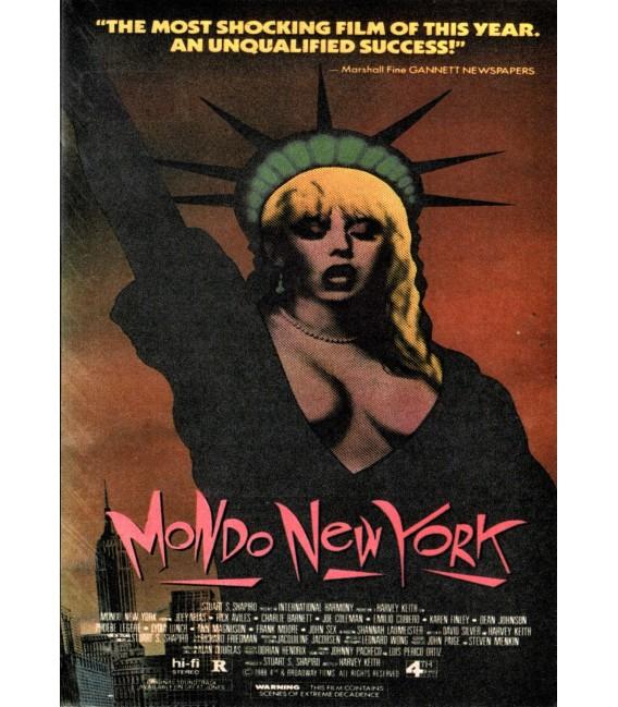 Mondo New York on DVD