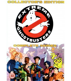 Extreme Ghostbusters complete cartoons series on 4 DVDS