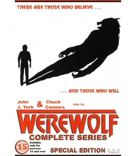 WEREWOLF The Complete TV series 29 episodes on 3 DVD's