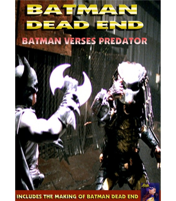 Batman Dead End Batman vs Predator fan film collection dvd