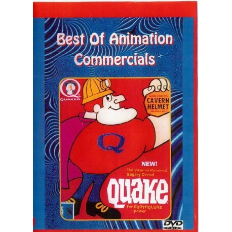 ANIMATION COMMERCIALS of the 1960s 1970s dvd