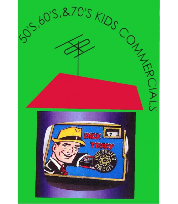 KIDS TOYS COMMERCIALS DVD
