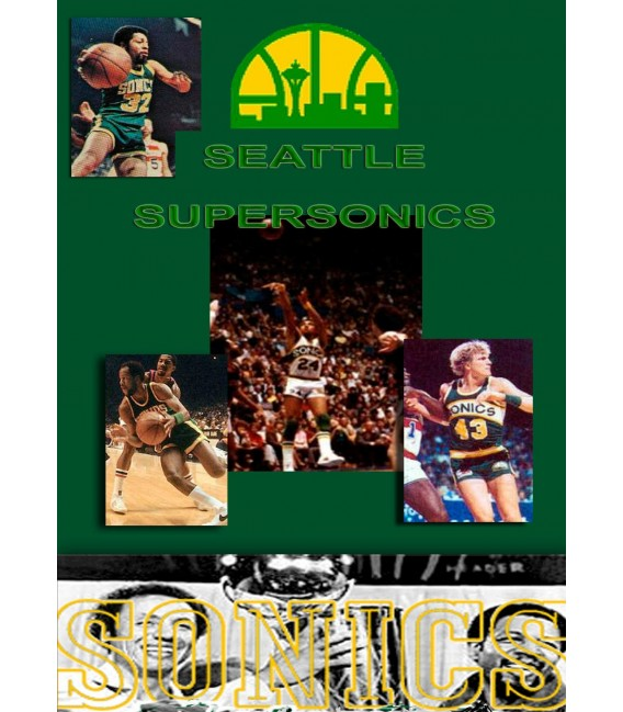 1978 - 1979 Seattle Supersonics Championship TV Specials 2 total on dvd