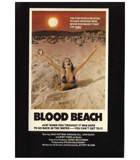 BLOOD BEACH on DVD Rare 1980