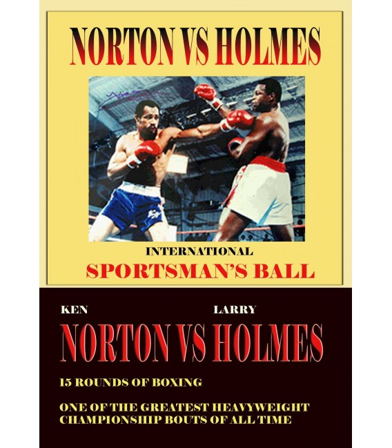 Larry Holmes & Ken Norton 1978 Championship Fight boxing dvd