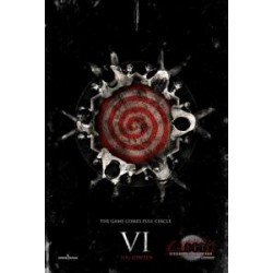 Horror film SAW VI 13 X 20 Glossy advance movie poster