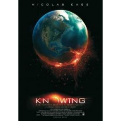 KNOWING with Nicolas Cage 11 x 17 advance glossy movie poster