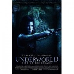 UNDERWORLD Rise of the Lycans 11 x 17 advance glossy movie poster