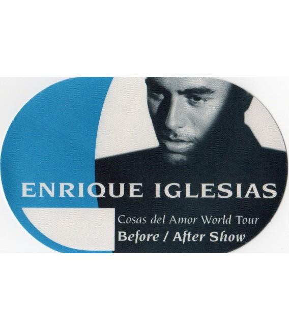Enrique Iglesias World Tour backstage pass
