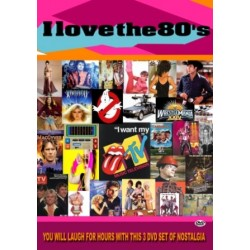 VH1's I Love The 80's TV series dvd