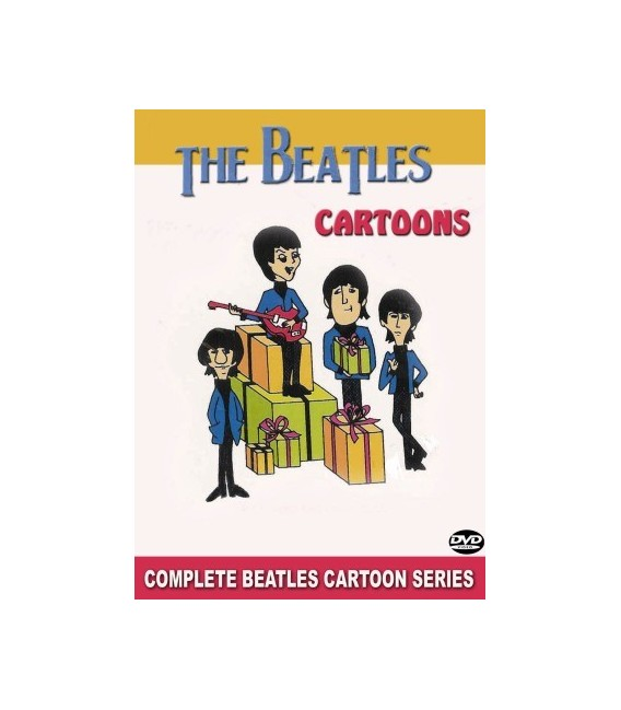 THE BEATLES CARTOONS COMPLETE SERIES 8 DISC DVD SET