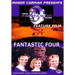 Fantastic Four unreleased widescreen 1994 movie dvd