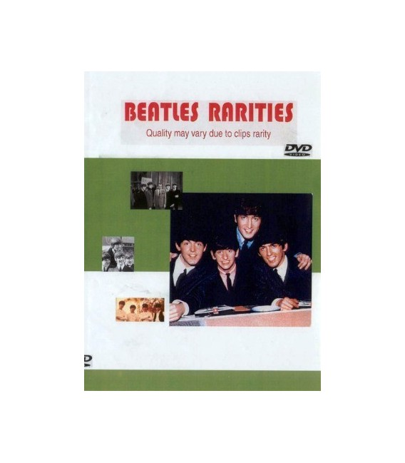 THe Beatles In Concert Rarities dvd