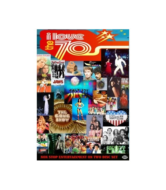 I Love The 70's tv series 2 dvd set