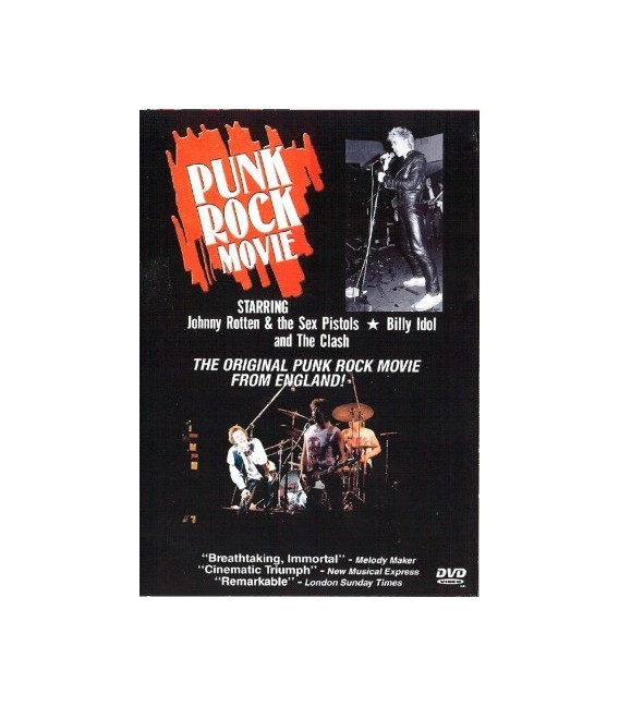 The Punk Rock Movie dvd