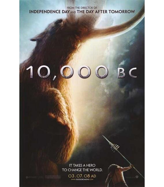 10,000 BC advance mini movie poster