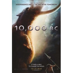 10,000 BC advance mini movie poster