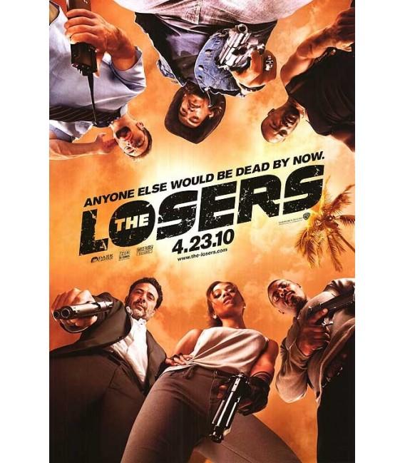 The Losers advance mini movie poster