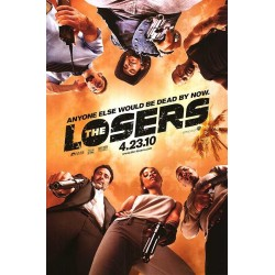 The Losers advance mini movie poster