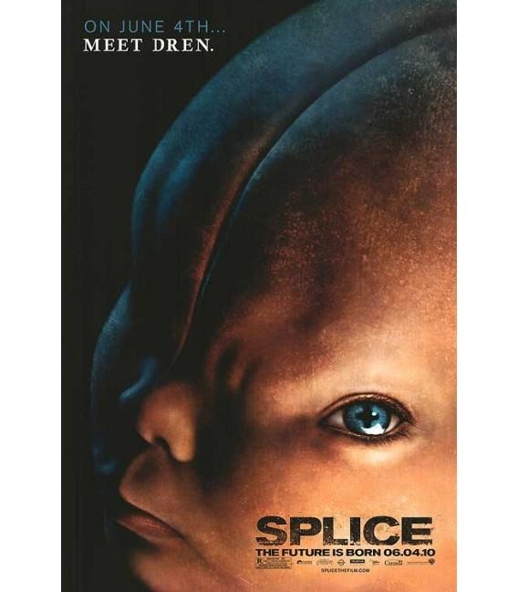 Splice mini movie poster