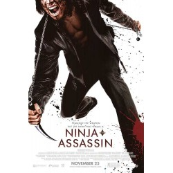 Ninja Assassin advance mini poster