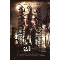 Saw 3D: The Final Chapter advance mini movie poster
