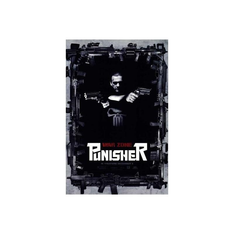Punisher war zone movie poster
