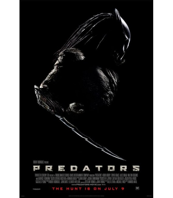 Predators advance mini movie poster