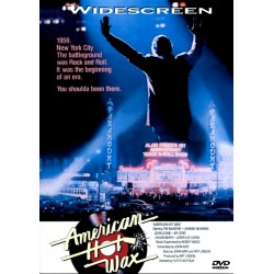 American Hot Wax widesceen version Dolby Digital DVD