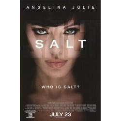 SALT starring Angelina Jolie 1 sheet movie poster