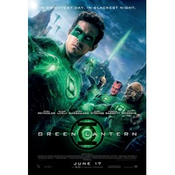 Green Lantern original mini movie poster