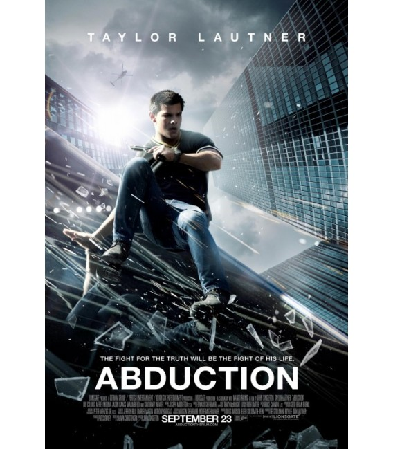 Abduction starring Taylor Lautner advance mini poster ...