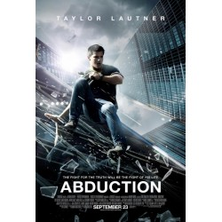Abduction starring Taylor Lautner advance mini poster