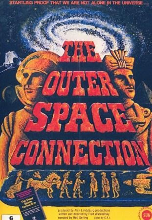 The Outer Space Connection THE OUTER SPACE CONNECTION Narrated by ROD SERLING dvd Media
