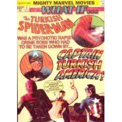 TURKISH CAPTAIN AMERICA VS SPIDER-MAN DVD