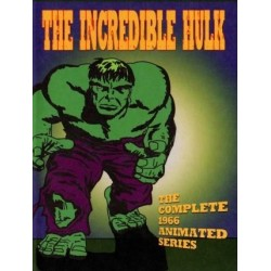 The Incredible Hulk 1966 cartoons DVD